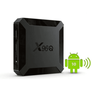 X96Q (2+16GB) Allwinner H313 Quad Core Android 10 TV Box
