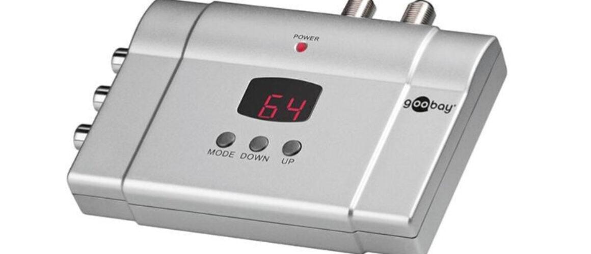 Goobay 67249 Full Band stereo Audio/Video HF Αναλογικό Modulator με LED