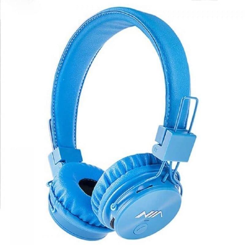 NIA-X3 Bluetooth Headset 4 in 1 - Μπλέ