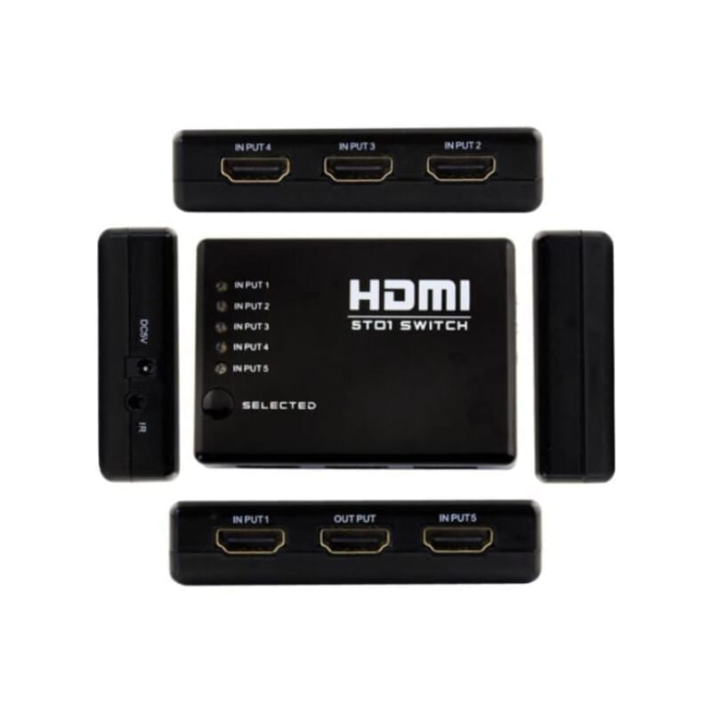 5T01 HDMI Switch 5 Ports 4Κ