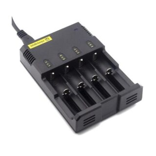 Nitecore Sysmax Intellicharge i4 4-Channel Smart Battery Charger