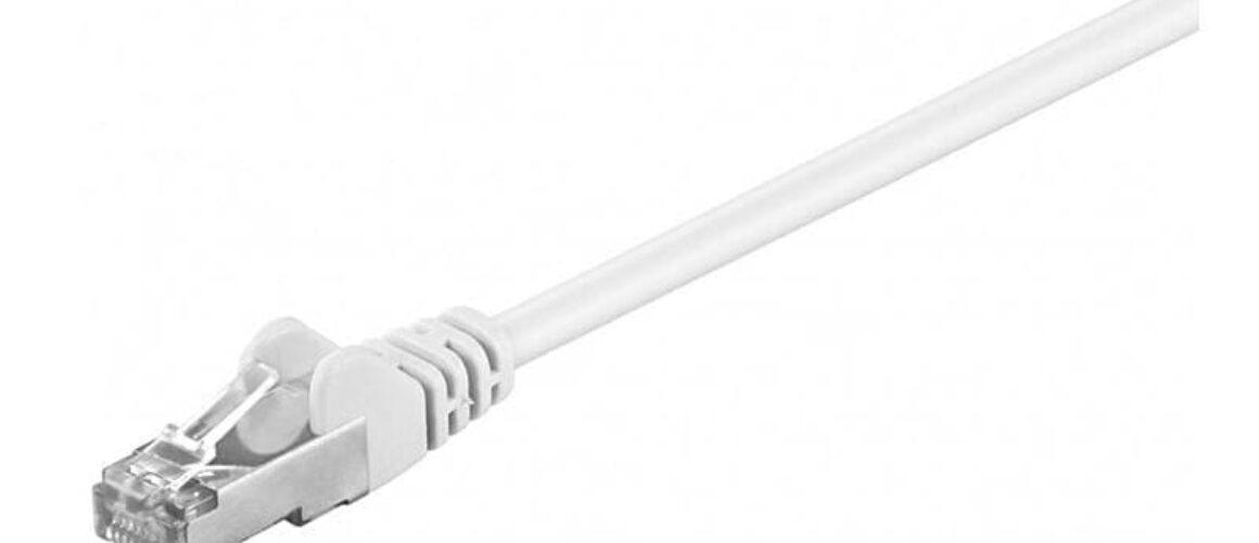 S/FTP Cat.6 Καλώδιο Δικτύου 30m Λευκό 93508