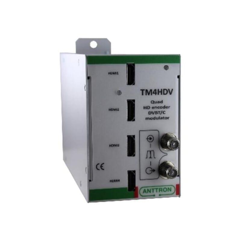 Anttron TM4HDV Quad HD Encoder - DVBT/C Modulator