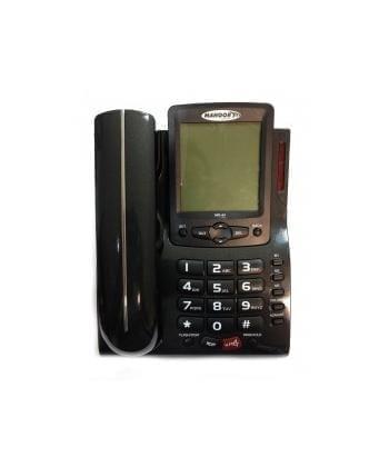 Mahoor MR44 Ενσύρματο Τηλέφωνο Μαύρο