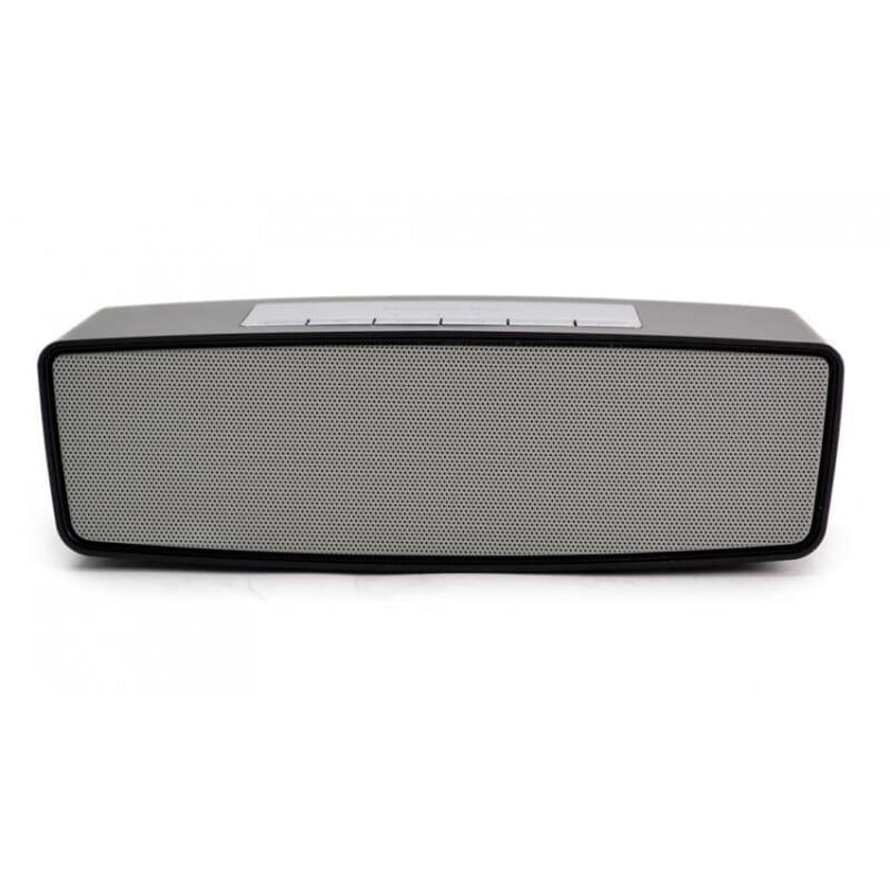 S307 Φορητό Mini Bluetooth Ηχείο silver micro sd  usb  aux