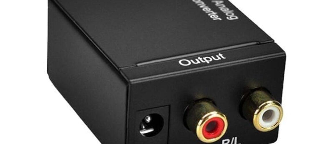 Optical/Toslink/Coaxial to RCA Μετατροπέας Ψηφιακού Ήχου Σε Αναλογικόc με καλώδιο USB