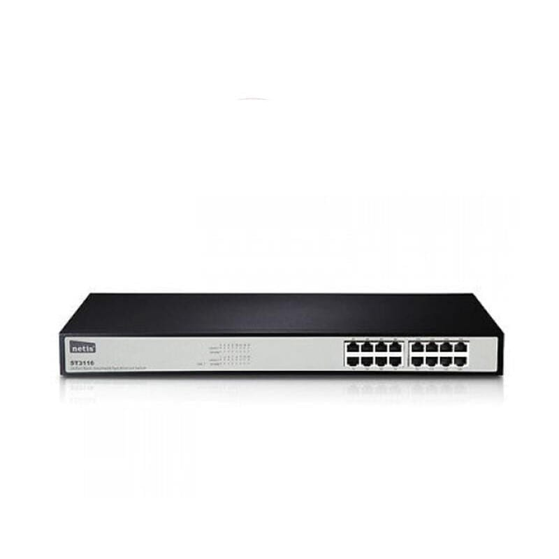 Netis ST3116 Ethernet Switch 100Mbps 16 Ports Rackmount