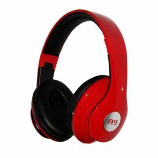 Ovleng A9 Ενσύρματα Ακουστικά Με Mικρόφωνο Κόκκινο