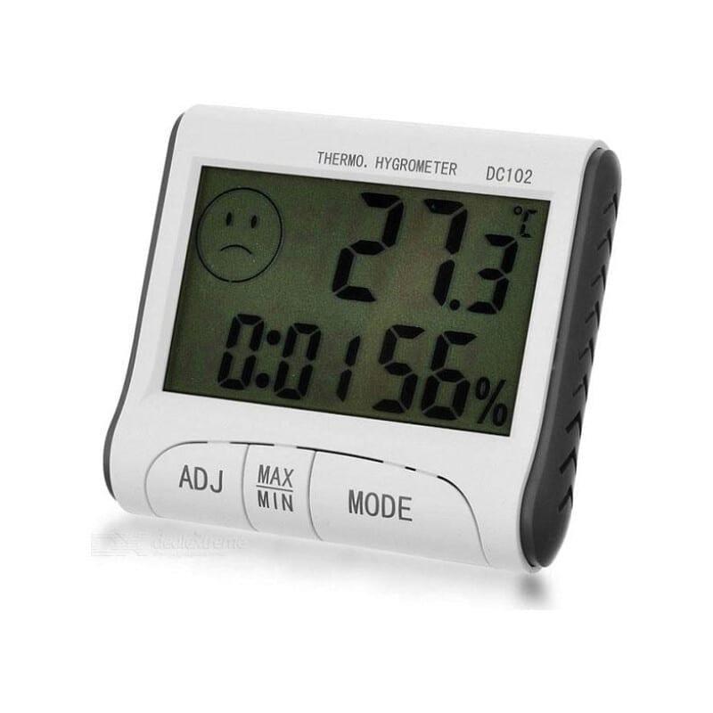DC102 Ψηφιακό Θερμόμετρο / Υγρασιόμετρο Εσωτερικού Χώρου