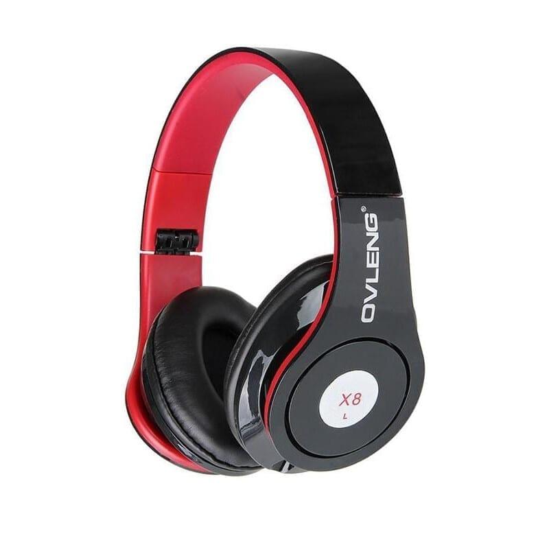 Ovleng X8 Ενσύρματα Ακουστικά Με Mικρόφωνο Μαύρο