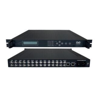 AV To ASI MPEG2 Encoder 8×CVBS IN / 2xASI IN / 2xASI OUT