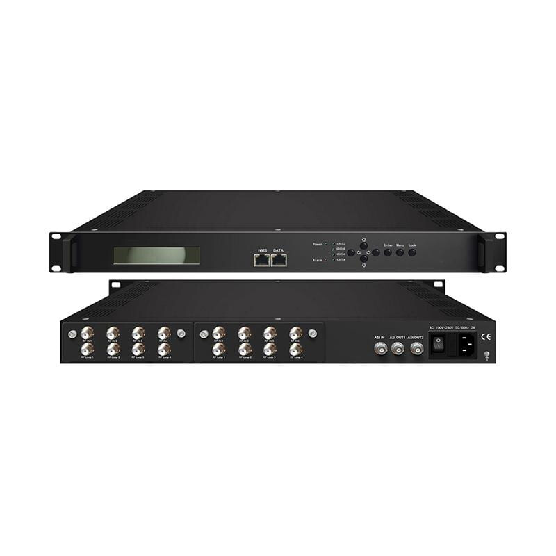 DVB-S2 To ASI Tuner Input Multiplexer 8×DVB-S2 IN / 1xASI IN / 2xASI OUT