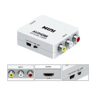 RCA to HDMI Μετατροπέας Εικόνας & Ήχου 1080P