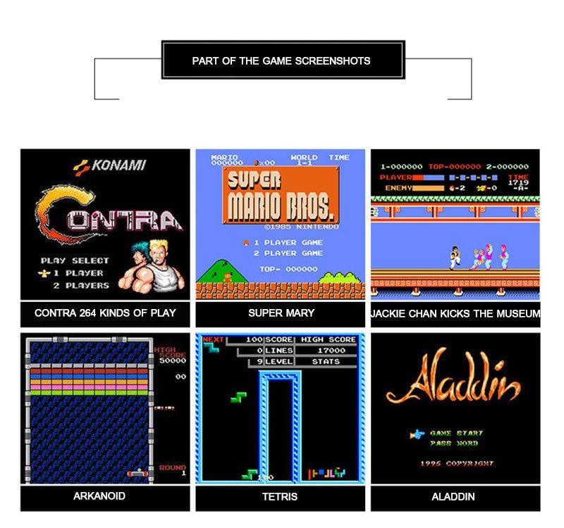 Κονσόλα Παιχνιδομηχανή Retro Anniversary Edition 500 Παιχνίδια