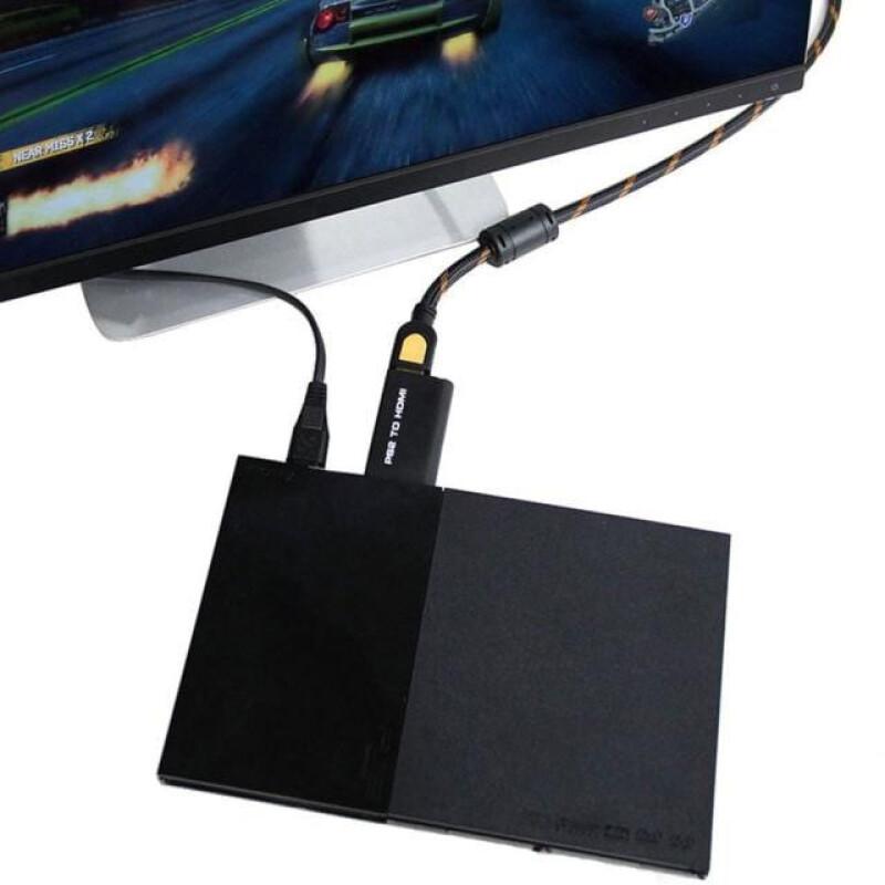 PS2 PS3 σε HDMI με Jack 3.6mm Μετατροπέας Εικόνας & Ήχου G300