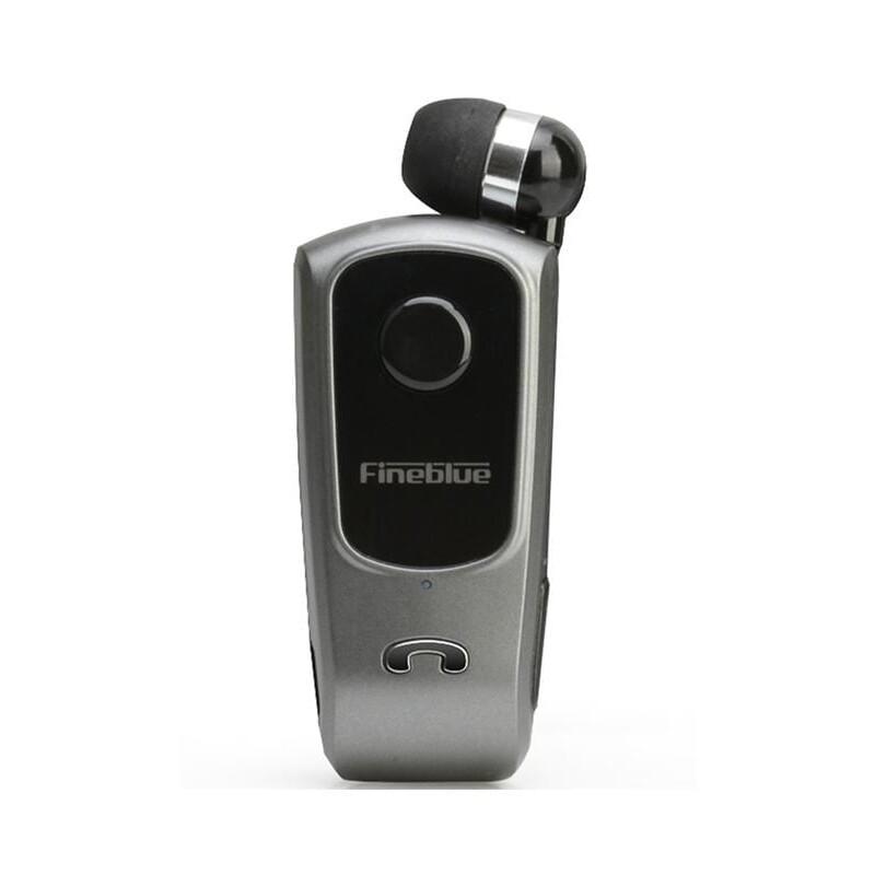 Original Fineblue F920 Ασύρματο Bluetooth Ακουστικό Γκρί