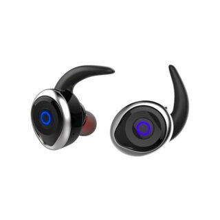 Awei T1 Ασύρματα Bluetooth Ακουστικά Ασημί