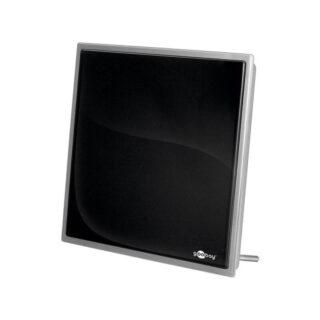 Goobay 67170 Ενεργή Κεραία Τηλεόρασης Εσωτερικού Χώρου με Ενσωματωμένο Ενισχυτή 30dB