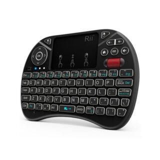 Rii X8 2.4Ghz Ασύρματο Μίνι Πληκτρολόγιο με Touchpad
