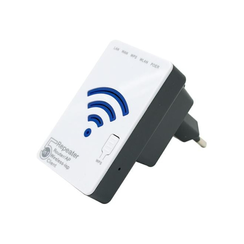 Mini WiFi Repeater Router 5 σε 1 300Mbps