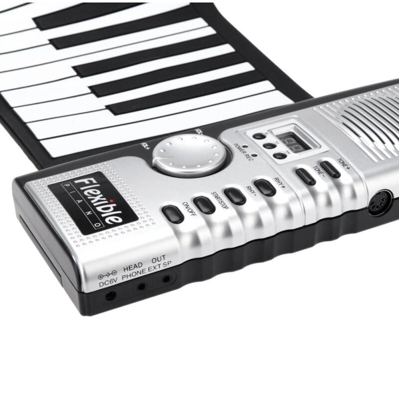 Φορητό Ευλύγιστο Αρμόνιο Synthesizer Αφής 61 Πλήκτρων