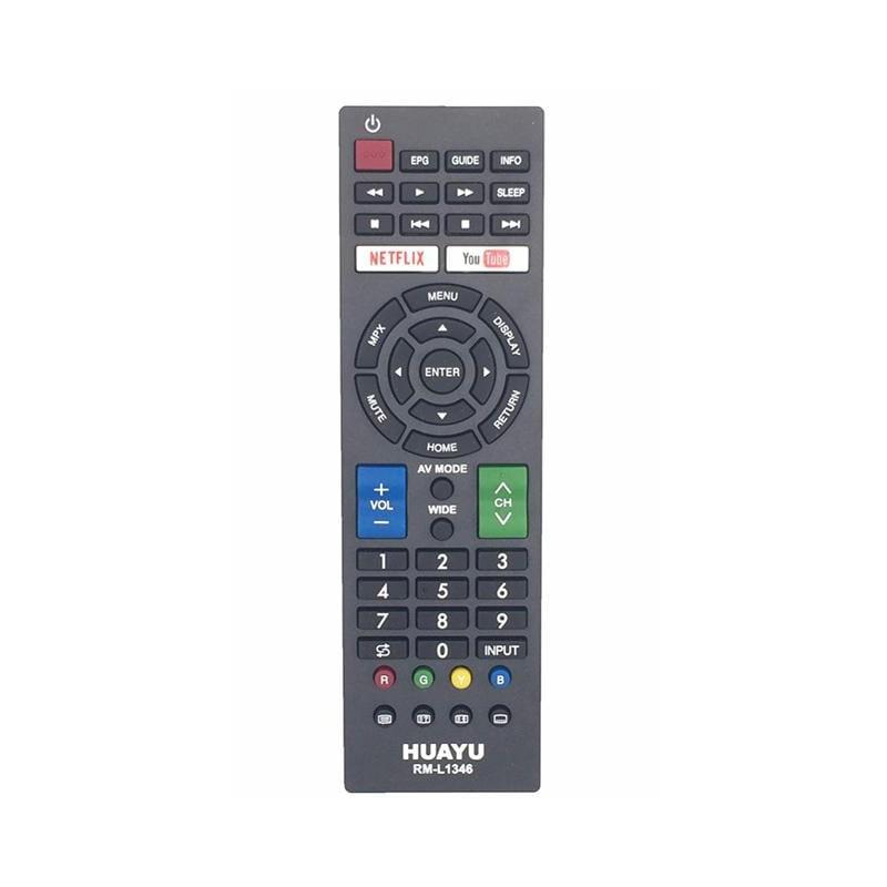 HUAYU RM-L1346 Sharp Smart TV Τηλεχειριστήριο