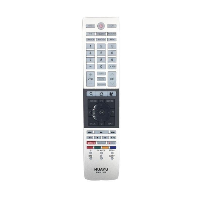 HUAYU RM-L1328 Toshiba Smart TV Τηλεχειριστήριο