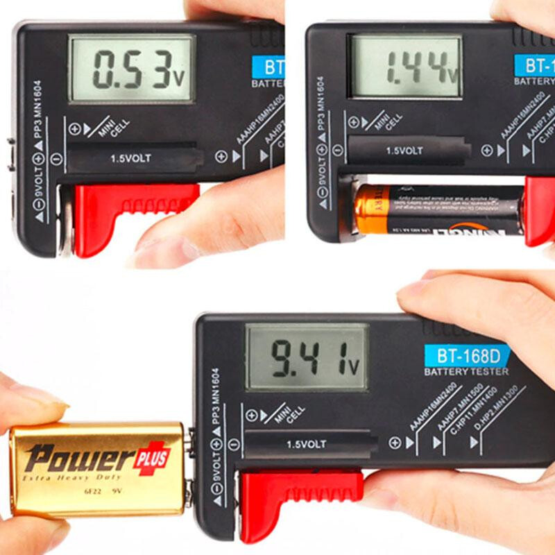 BT-168D Portable Digital Battery Tester