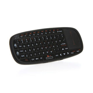 Rii i10 2.4Ghz Ασύρματο Μίνι Πληκτρολόγιο Air Mouse με Touchpad