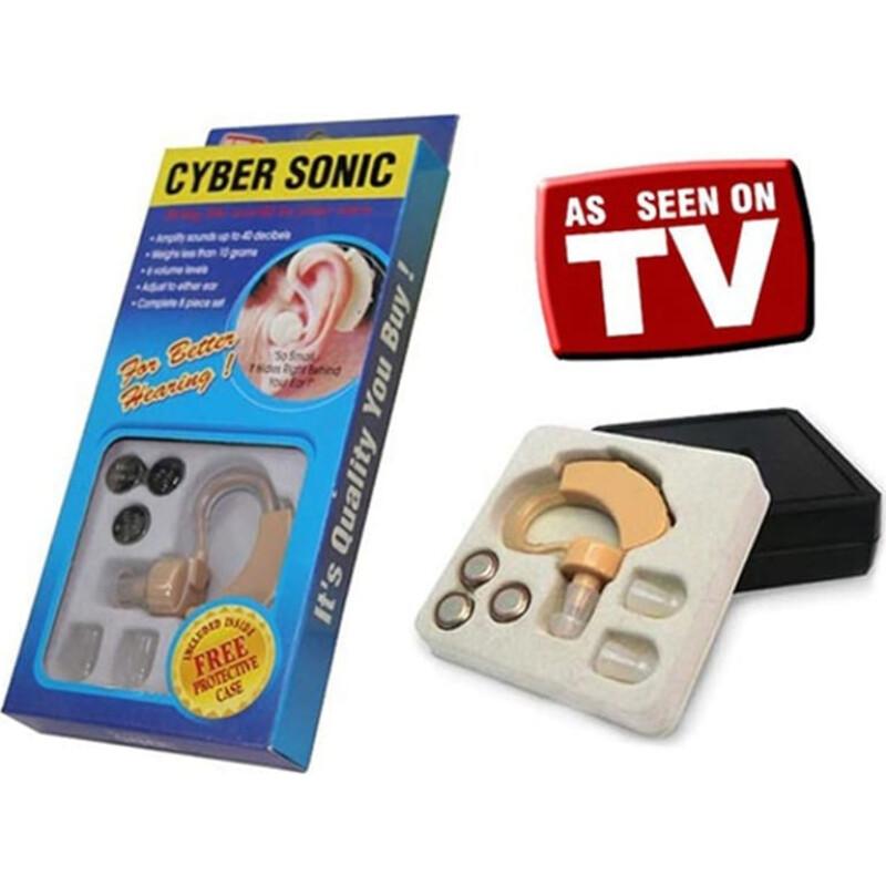 Cyber Sonic 21195 Ακουστικό Ενίσχυσης Ακοής