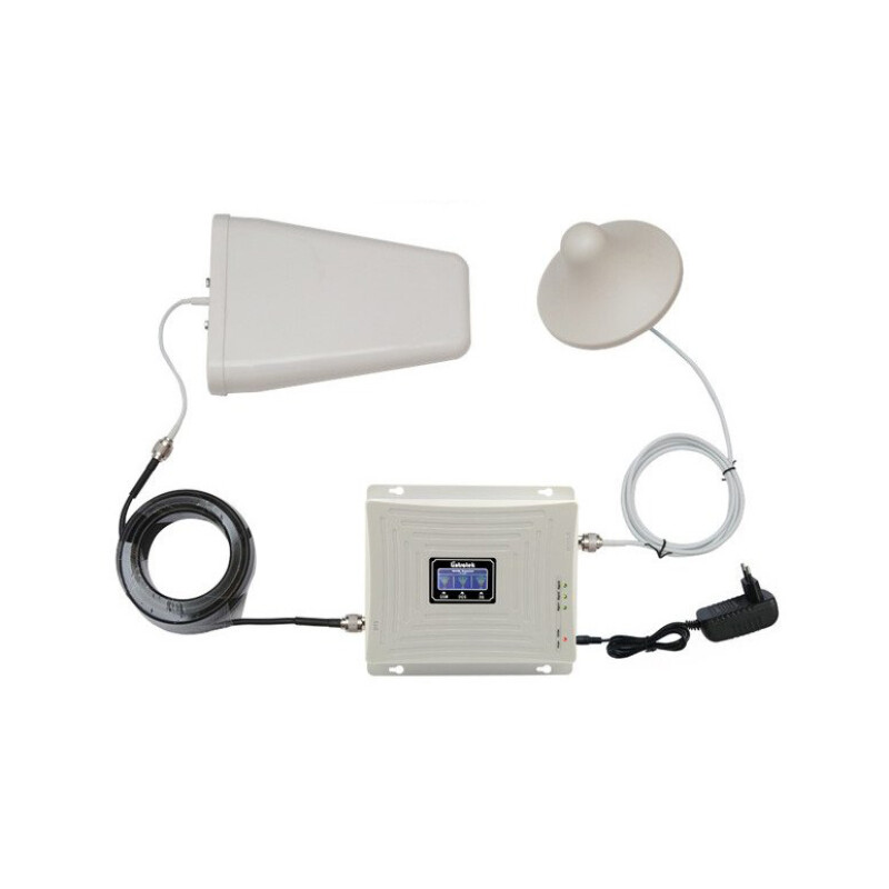 TriBand GSM 4G Αναμεταδότης Ενισχυτής Σήματος Κινητών Τηλεφώνων 900Mhz/1800Mhz/2600Mhz