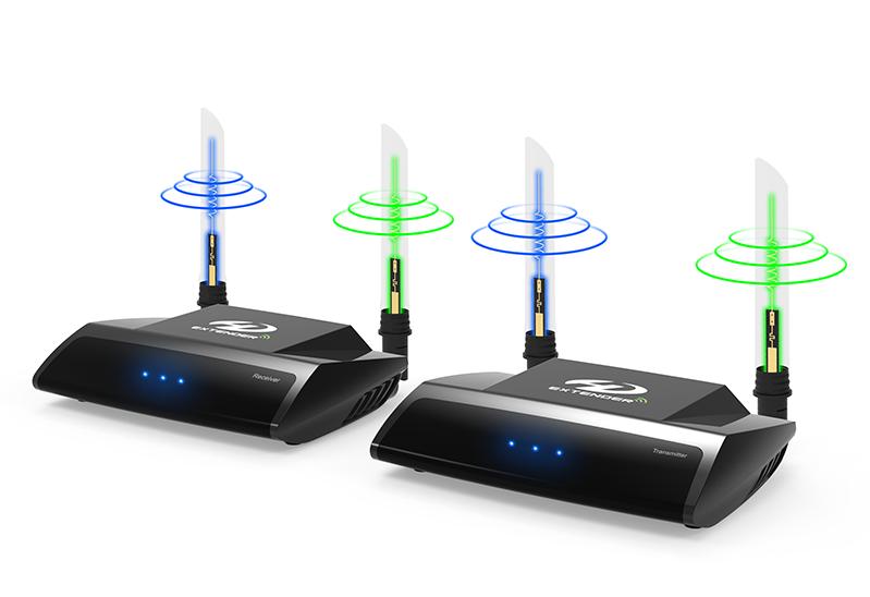 HDMI WiFi Ασύρματος Αναμεταδότης Εικόνας & Ήχου Ζευγος