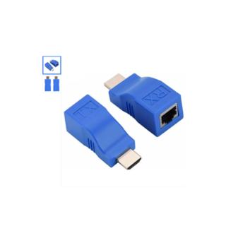 HDMI Extender μέσω UTP CAT5/CAT6 30m - Ζεύγος