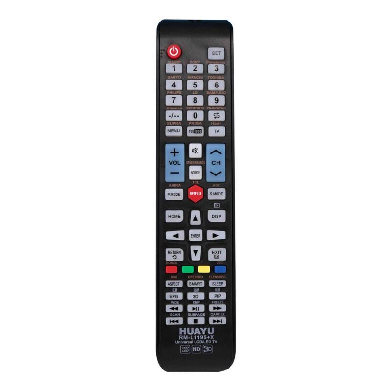 HUAYU RM-L1195+X Universal TV Remote Control
