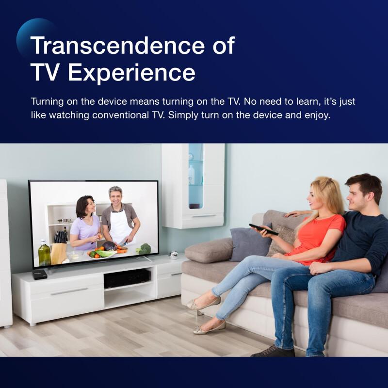 StrideBox ovo inside streaming tv