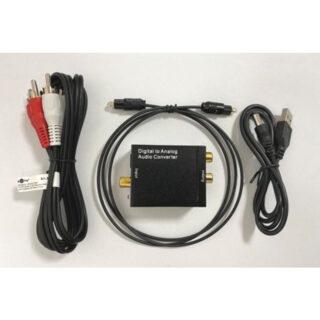 Optical/Toslink/Coaxial to RCA Μετατροπέας Ψηφιακού Ήχου πληρες