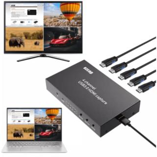 EZCAP264 4-in-1 HDMI Capture Live