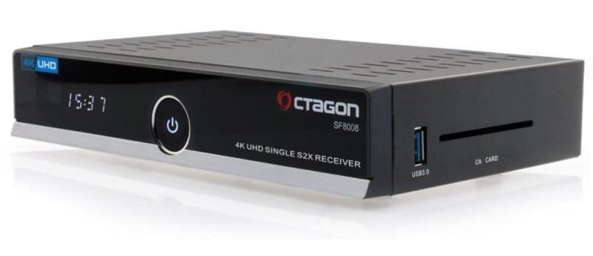 Octagon SF8008 4K UHD E2 DVB-S2X