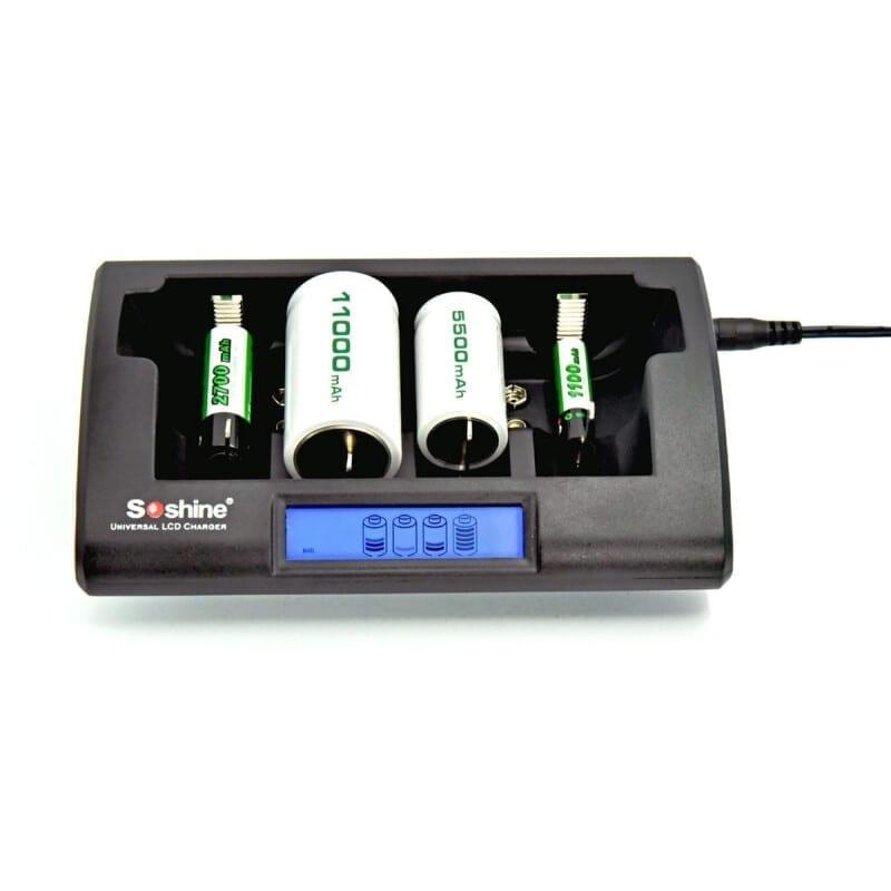 SOSHINE CD1 Battery Charger for NiCD & NiMh