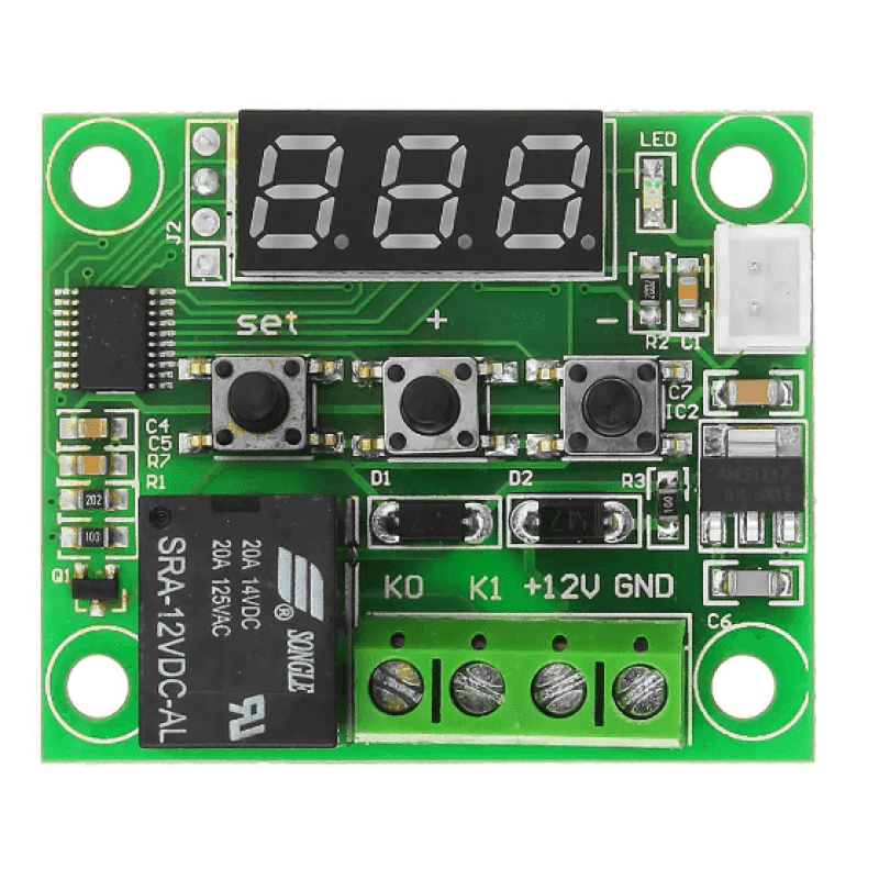 XH-W1209 DC 12V Thermostat Temperature Control Switch Thermometer Controller