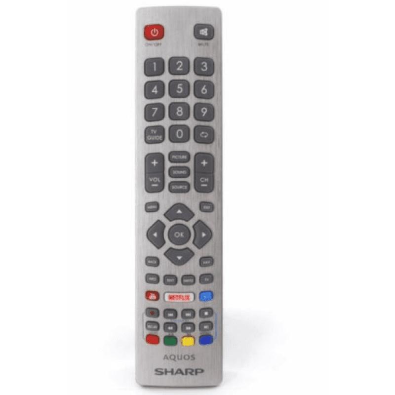Sharp Aquos IR Smart TV Τηλεχειριστήριο DH1901091551