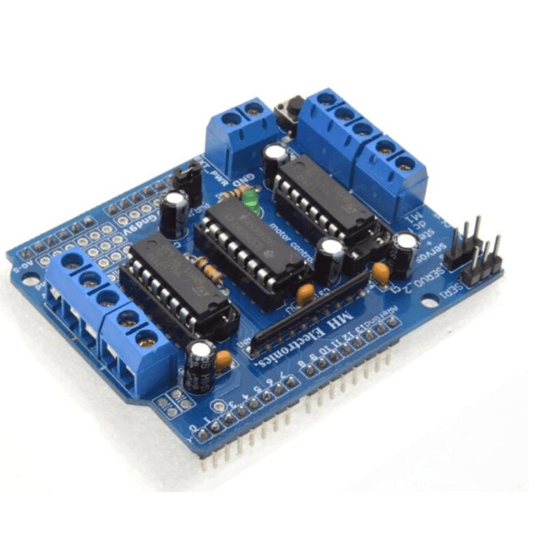 L293D motor drive dual shield for arduino