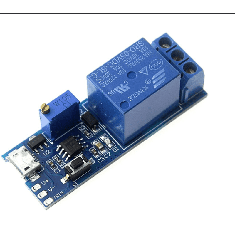 5V-30V Power Adjustable Delay Relay Timer Control Module