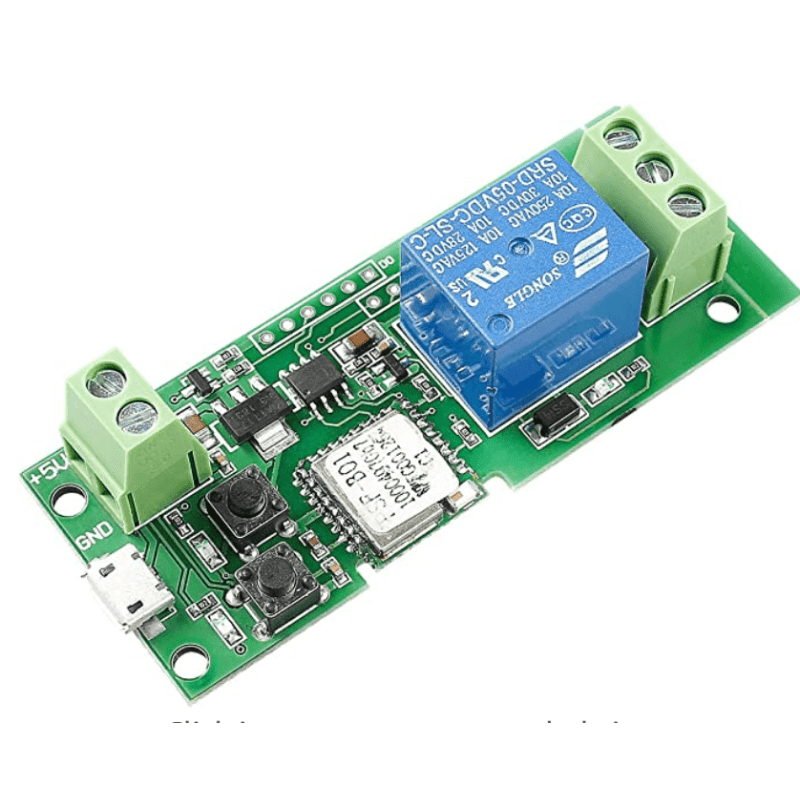 1 Channel 5v WiFi Wireless Switch Relay Module