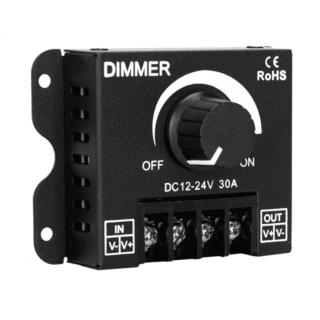 Εξωτερικό Dimmer Knob 12-24 Volt 30 Ampere