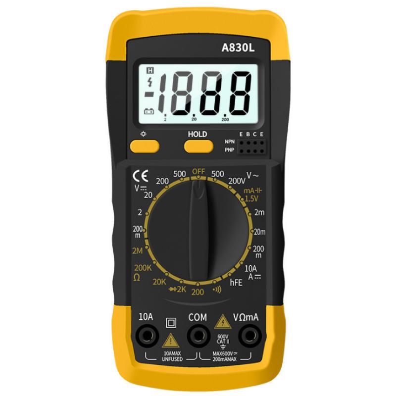 A830L Ψηφιακό Πολύμετρο