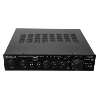 Ενισχυτής Ήχου Sunbuck AV-299BT 2X50W RMS HIFI bluetooth Stereo Power Amplifier Remote Control USB FM Mic Input