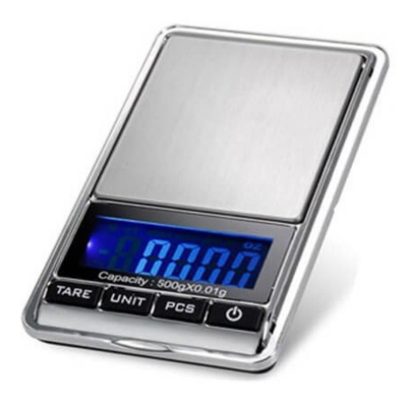 Ψηφιακή ζυγαριά ακριβείας 0.01-500 gr Digital DS-16
