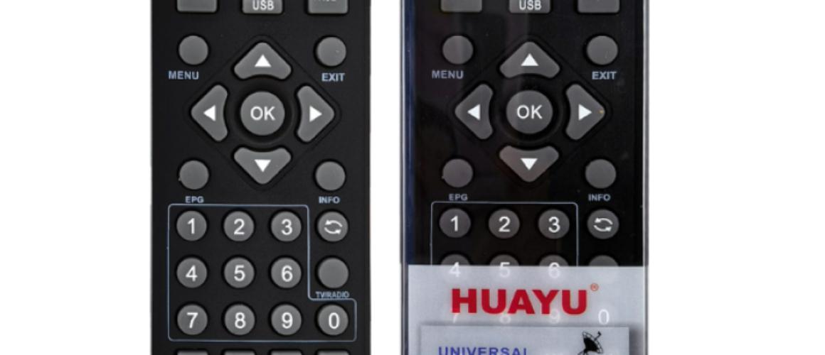 HUAYU  RM-D1155+8 Universal Remote Control για Αποκωδικοποιητές