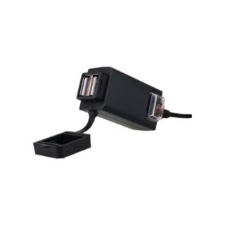 A12 UNIVERSAL DUAL USB CAR CHARGER ΜΕ ΒΑΣΗ  OEM